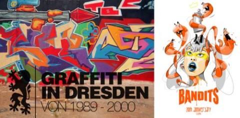 GRAFFITI IN DD 1989 - 2000 & 20 JAHRE BANDITS DRESDEN
