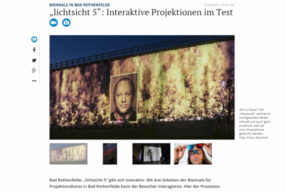 Screenshot Interaktive Kunst im Test